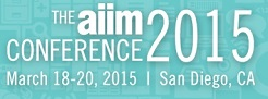 AIIM Conference 2015